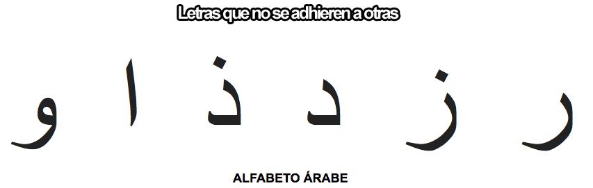a alfabeto árabe