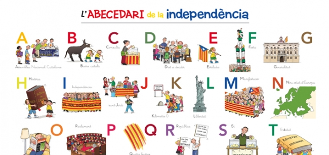 abecedario catalan para imprimir