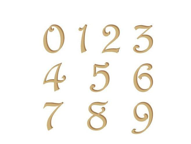 abecedario español con numeros