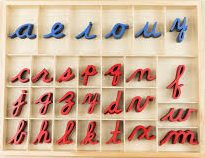 abecedario cursiva para imprimir