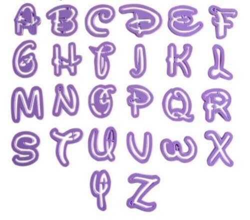 abecedario de disney