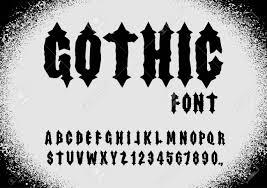 abecedario gotico para copiar