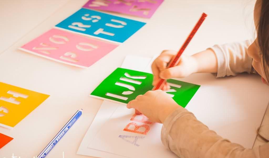 plantilla para el abecedario infantil