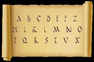 abecedario latino pdf