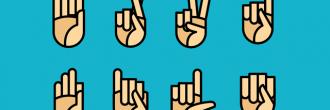 Abecedario lengua de signos