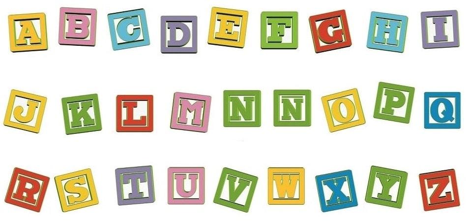 abecedario para niños plastilina