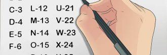 Abecedario numerado