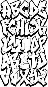 graffiti a abecedario