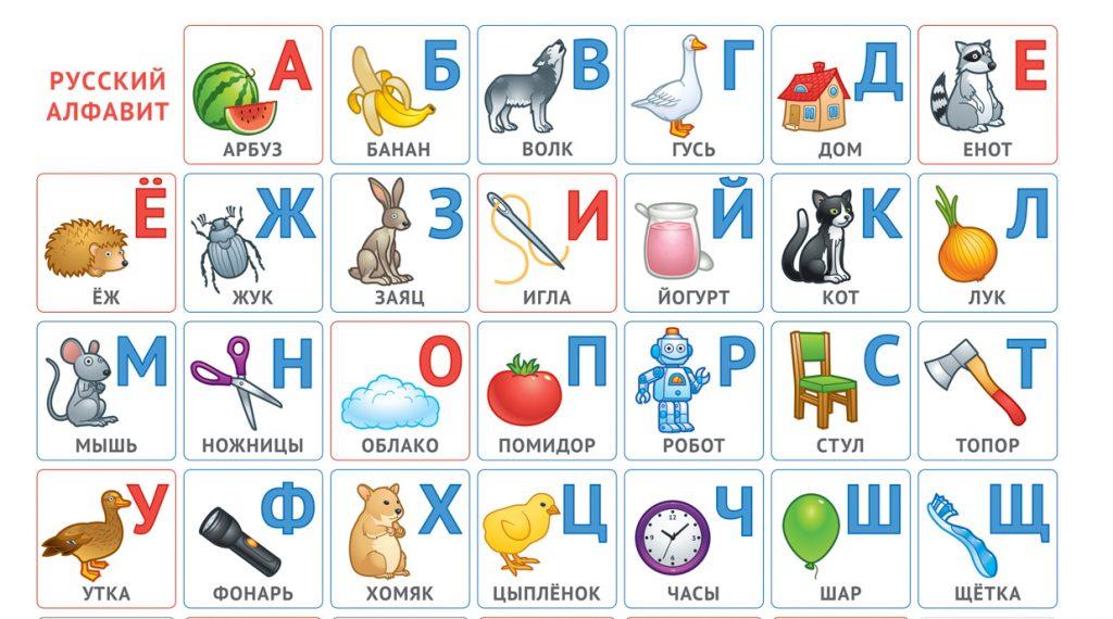 abecedario ruso
