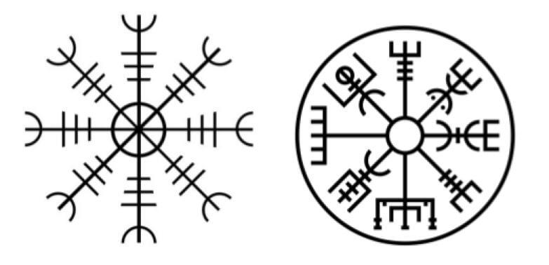 letras del abecedario vikingo