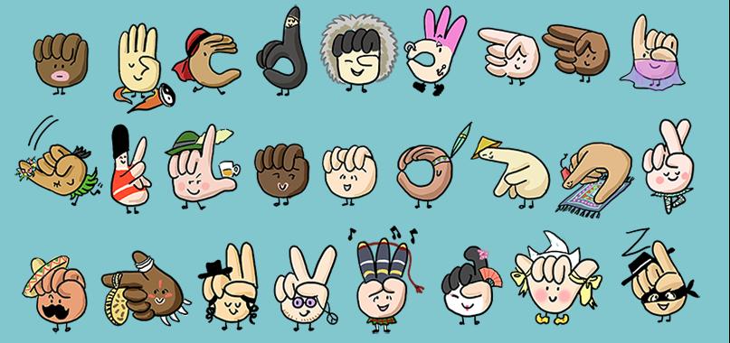 abecedario lengua de signos infantil
