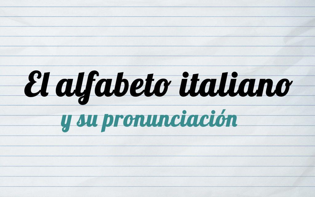 abecedario italiano pronunciacion audio