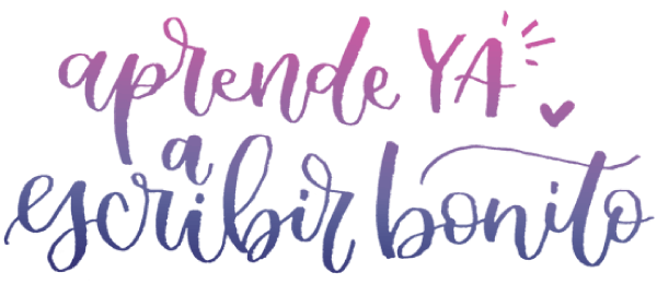 lettering caligrafia abecedario