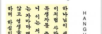 Abecedario coreano