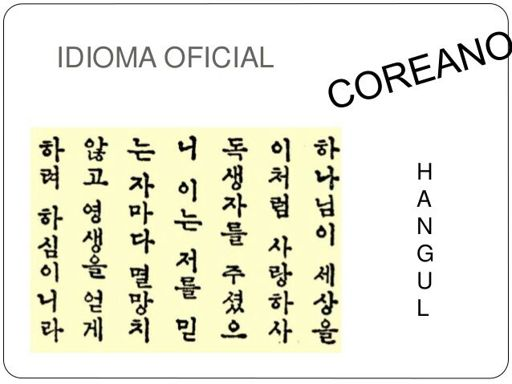 abecedario coreano completo