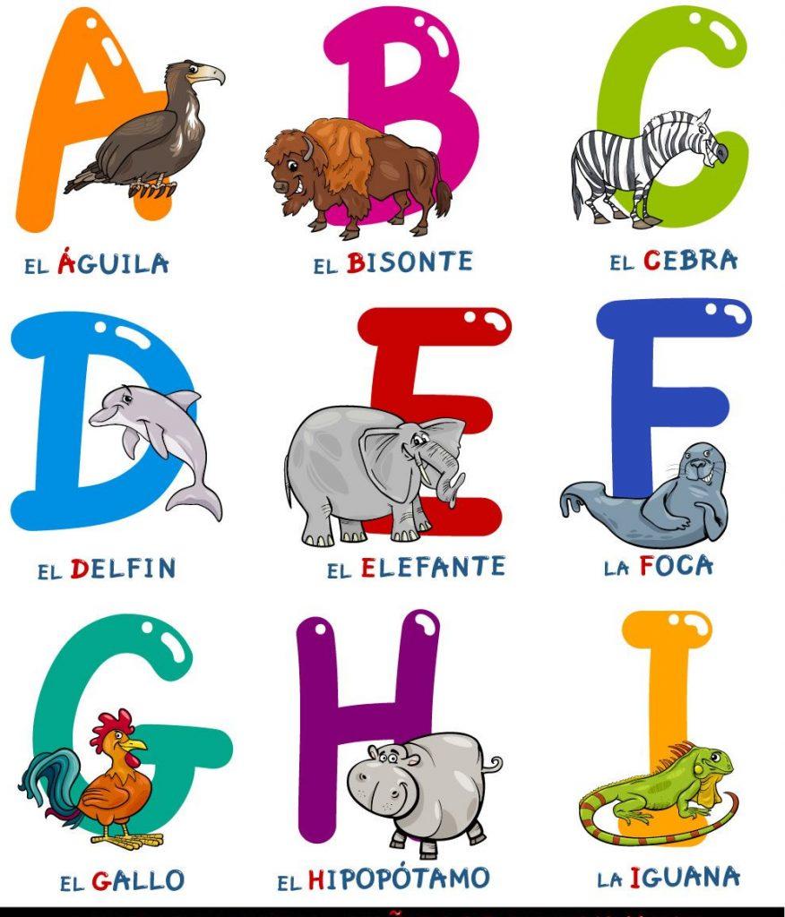 abecedario infantil con imagenes