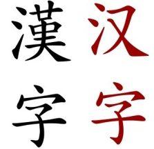 a abecedario chino