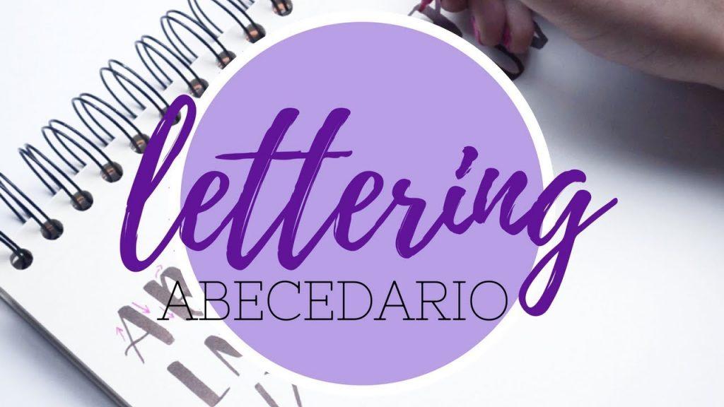 lettering abecedario mayusculas y minusculas