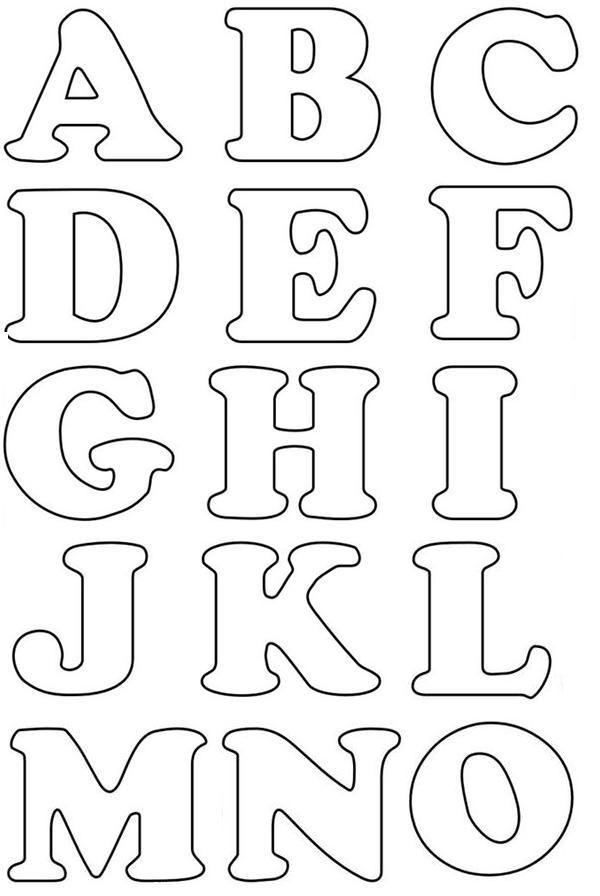 abecedario para pintar